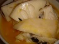 Receta de Chirimoyas a la naranja