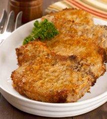 Receta de Chuleta de cerdo con queso