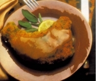 Chuleta de ternera en salsa