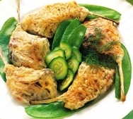 Chuletas de cordero al horno con verduras