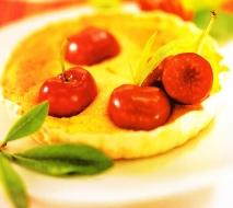 Receta de Clafoutis de cerezas