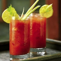 Cóctel de tomate sin alcohol
