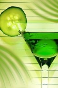 Cóctel Verde que te quiero verde