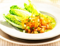 Cogollos con hortalizas
