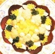 Receta de Coliflor margarita