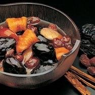 Receta de Compota de frutos secos