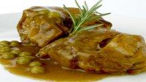 Receta de Cordero lechal con hortalizas