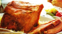 Costillar de cerdo ahumado con choucroute
