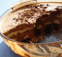 Crema al chocolate con soletillas