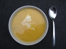 Crema de castañas al Gruyère