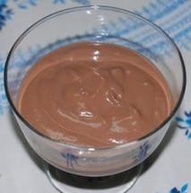 Crema de chocolate negro