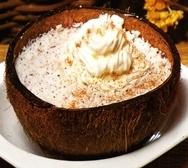 Crema de pulpa de coco