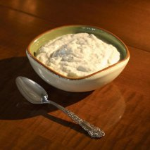 Crema de rábano picante