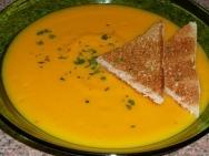 Crema de zanahorias con apio