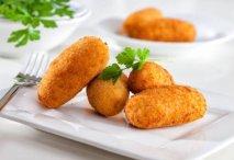 Receta de Croquetas de gambas y patatas
