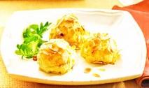 Croquetas de patata y almendra