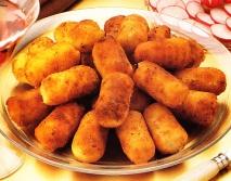 Croquetas de puré de patatas