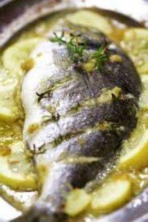 Dorada al limón