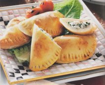 Empanadillas de queso feta