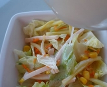 Receta de Ensalada china