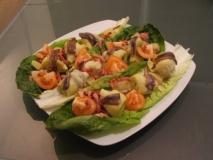 Ensalada de alcachofas