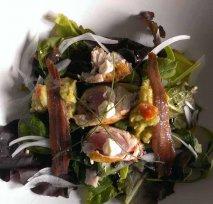 Ensalada de anchoas y bonito