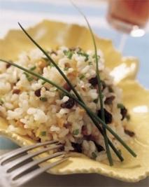 Ensalada de arroz con especias
