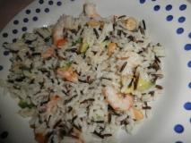 Ensalada de arroz salvaje