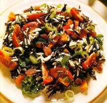 Receta de Ensalada de arroz salvaje y basmati