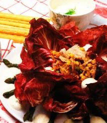 Receta de Ensalada de atún claro con maíz y espárragos trigueros