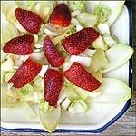 Ensalada de endibias con frutas tropicales