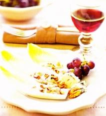 Ensalada de endibias con roquefort