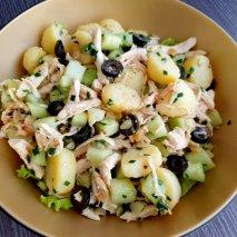 Receta de Ensalada de pollo con mayonesa