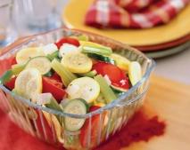 Receta de Ensalada de vegetales aromatizados