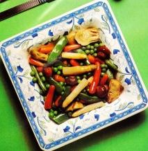 Ensalada de verduras cocidas