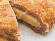 Escalopines rellenos de queso de Idiazábal