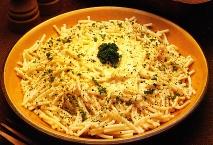 Espaguetis a las finas hierbas