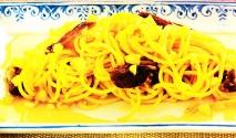 Receta de Espaguetis con dátiles