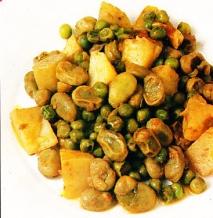Receta de Estofado vegetal