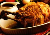 Receta de Faisán relleno de foie-gras