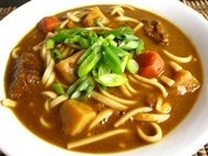 Fideos udon al curry (Kare udon)
