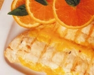 Filetes de lenguado a la naranja