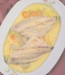 Filetes de mojarra con endibias braseadas