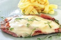 Filetes gratinados a la italiana