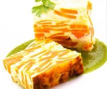 Flan de zanahoria y queso