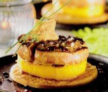 Foie fresco de pato y mango
