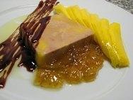 Foie pochado al Armagnac