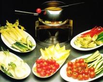 Receta de Fondue de verduras