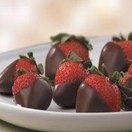 Receta de Fresas cubiertas de chocolate