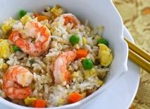 Fritura de arroz